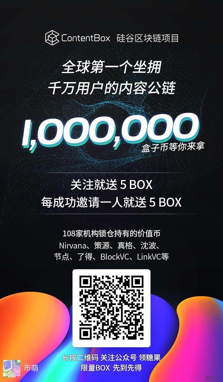 ContentBox (BOX) 空投 内容产业项目